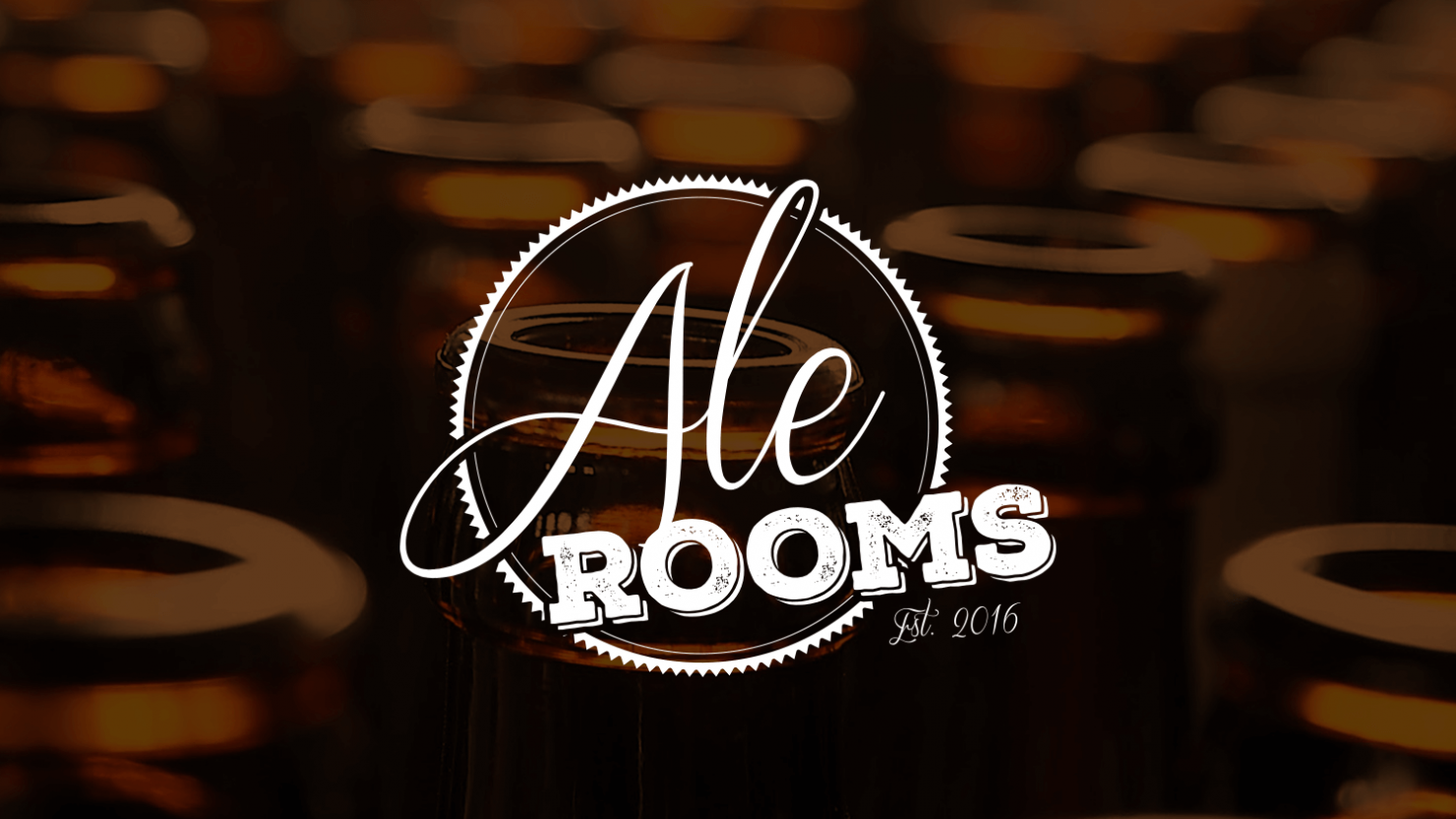 logo design and company branding for ale rooms