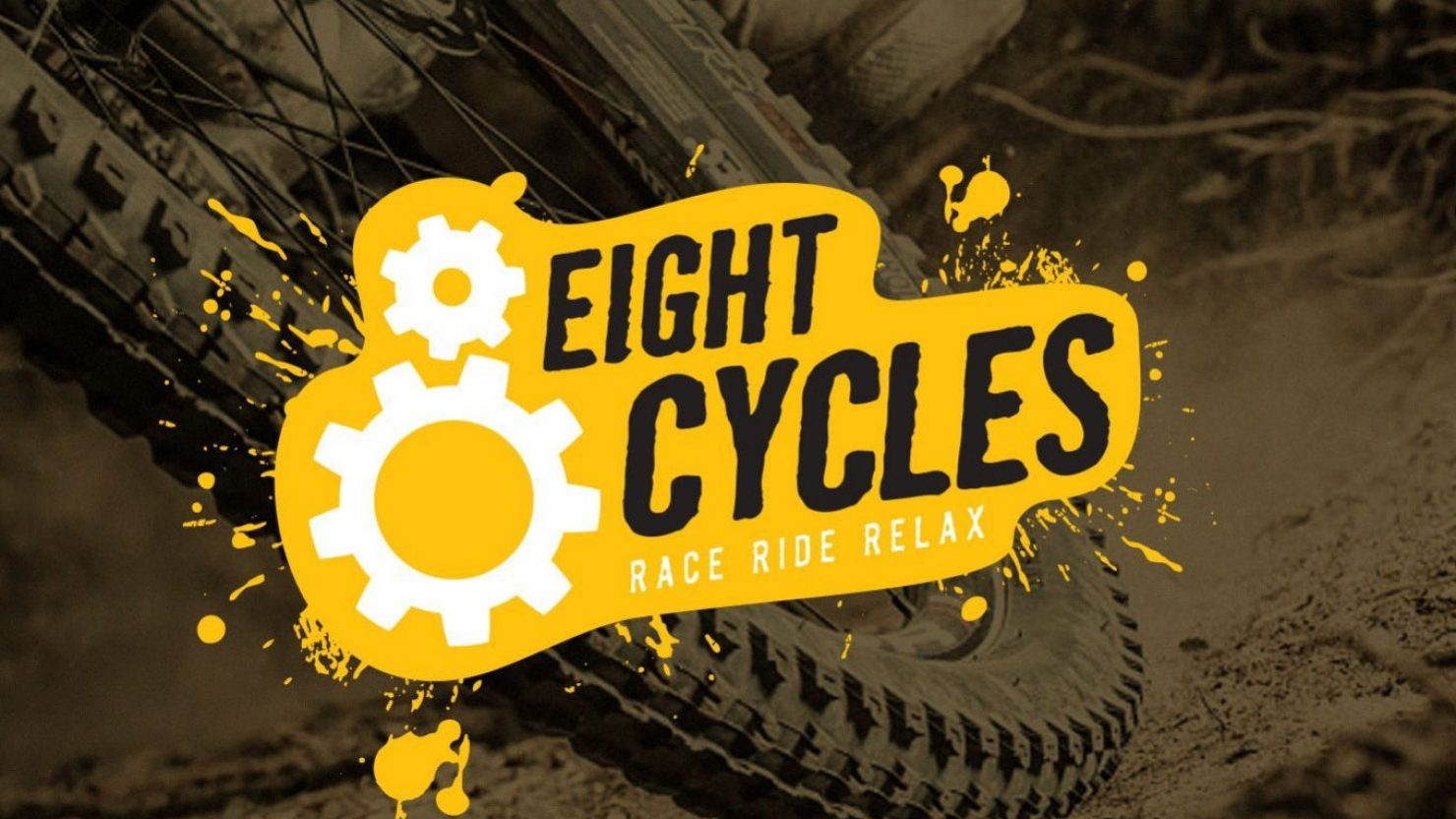 creative logo design for eight cycles