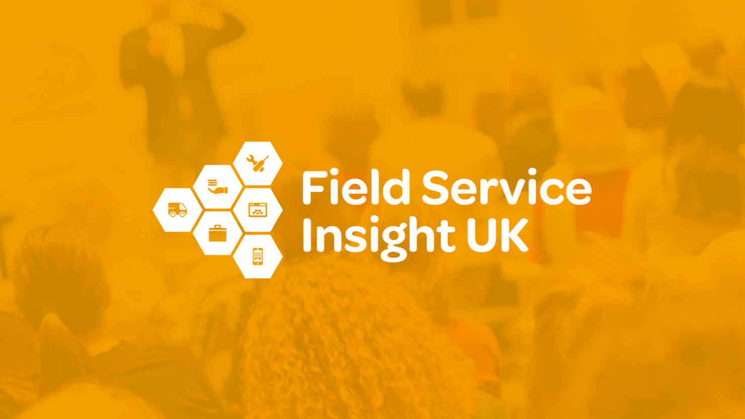 creative logo design and event branding for field service insight uk