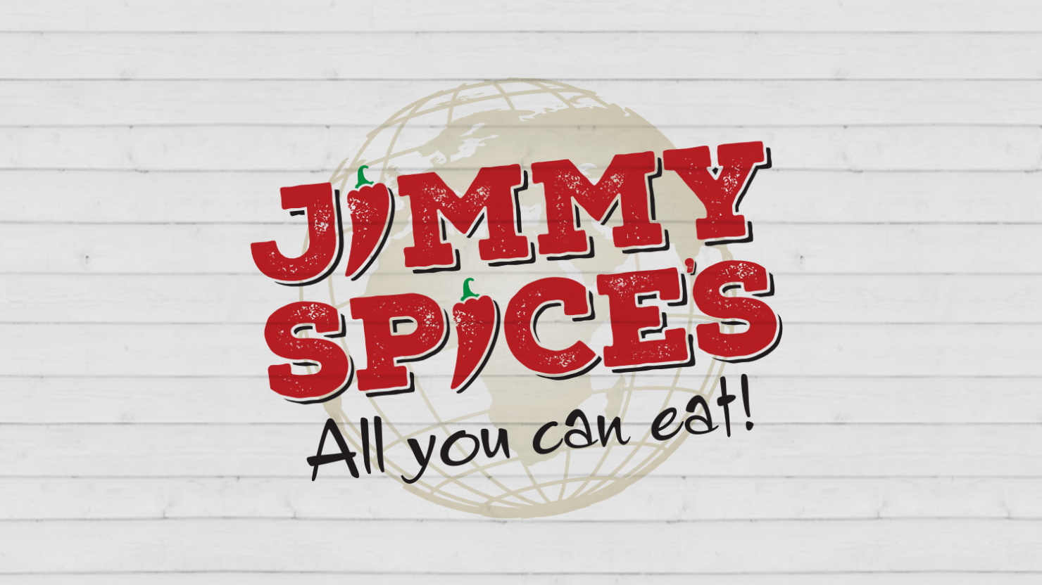 Creative restaurant branding for Birmingham restaurant Jimmy Spices