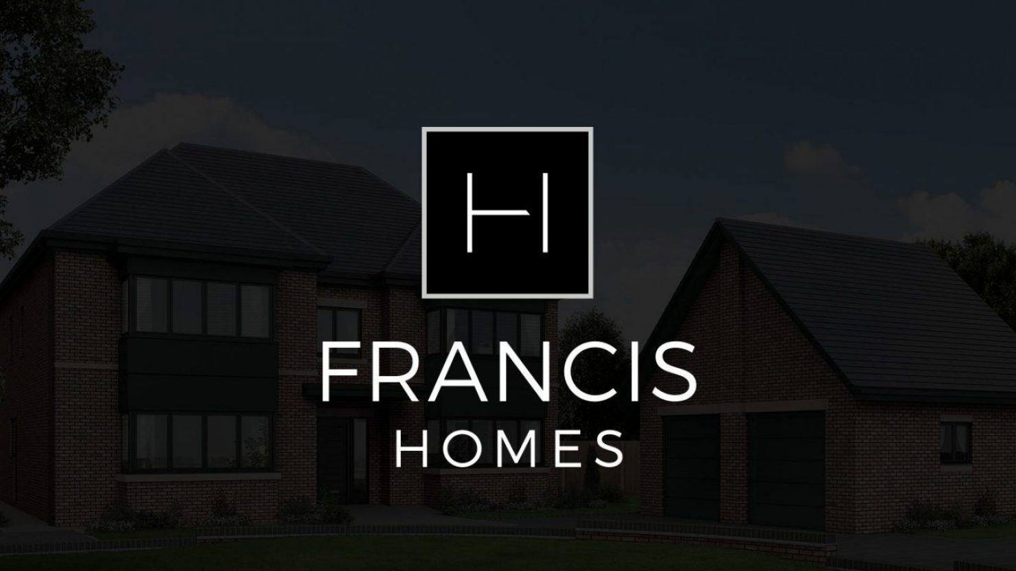 creative logo design for francis homes solihull
