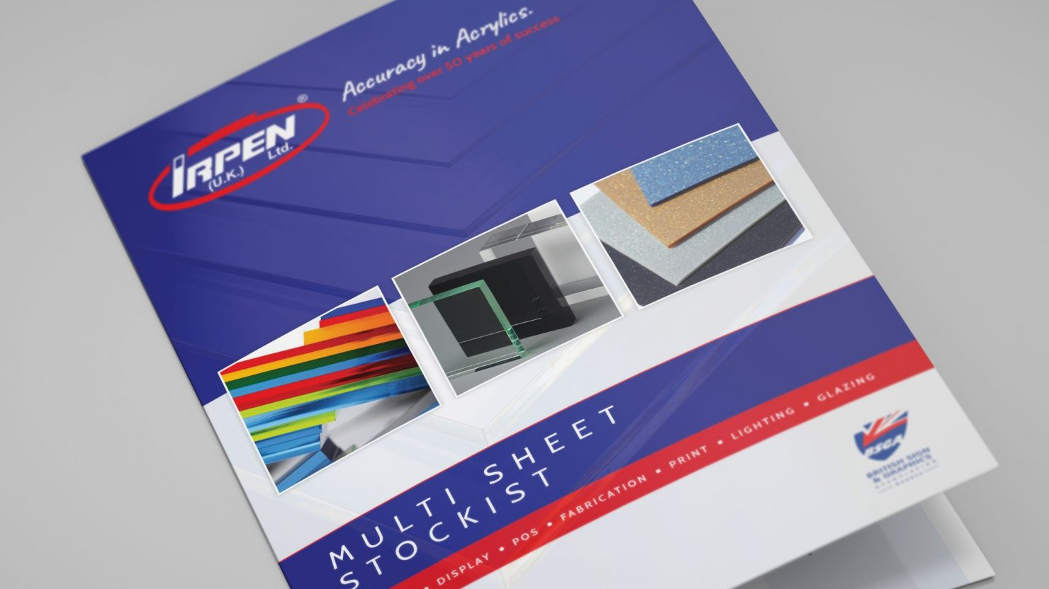 brochure design and branding example for irpen uk ltd birmingham