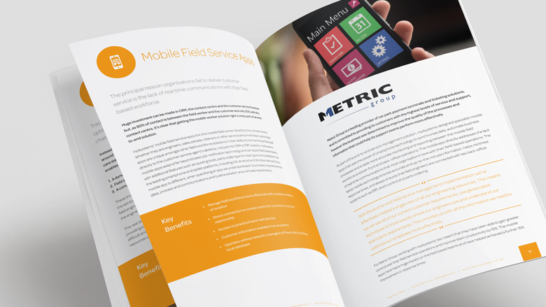 brochure design for mpl systems brand development