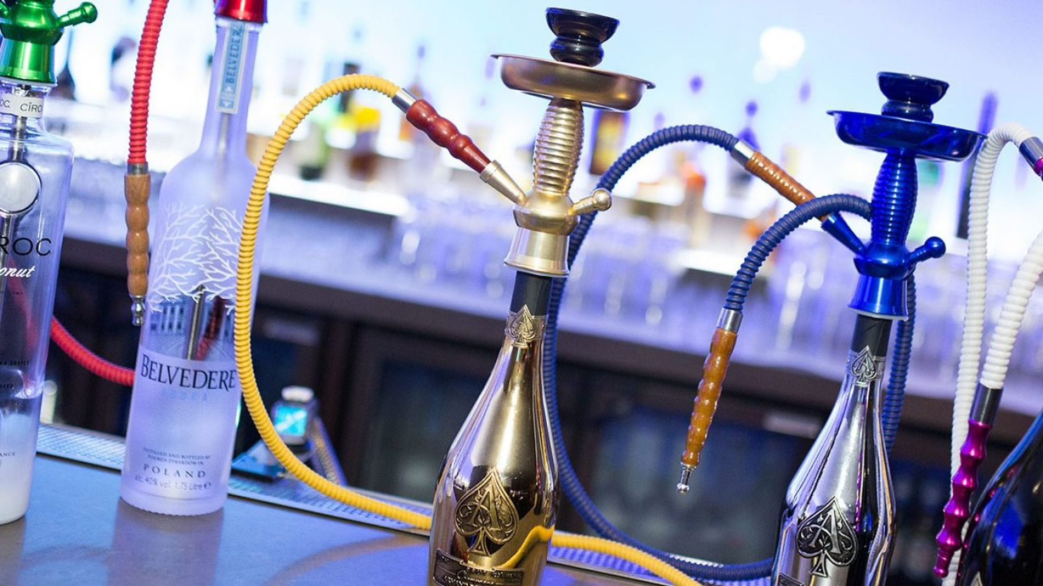 shisha pipe by exhale shisha marketing imagery
