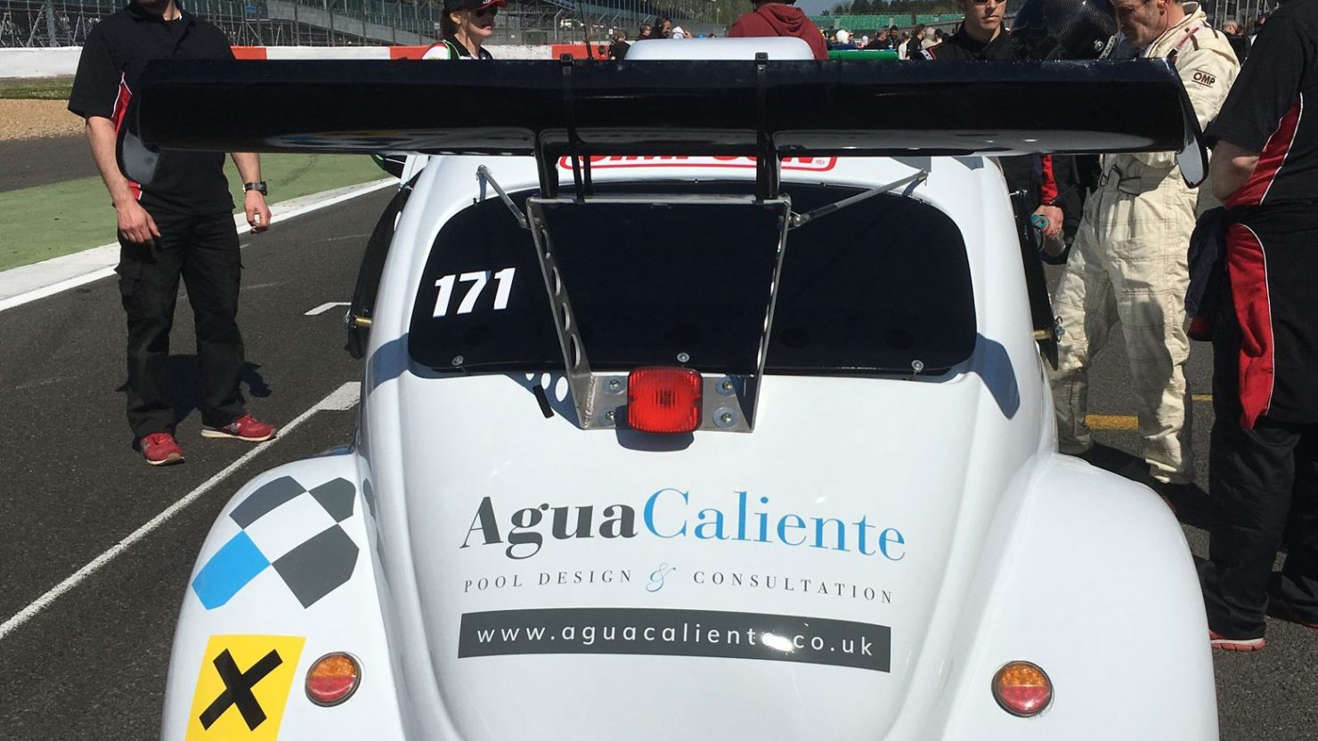 vehicle graphics and design branding vinyls for agua caliente race team