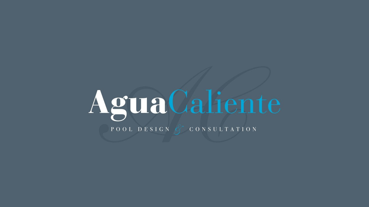 logo design and branding for agua caliente website