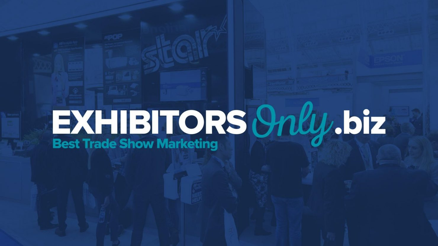 creative logo design for exhibitors only trade show marketing