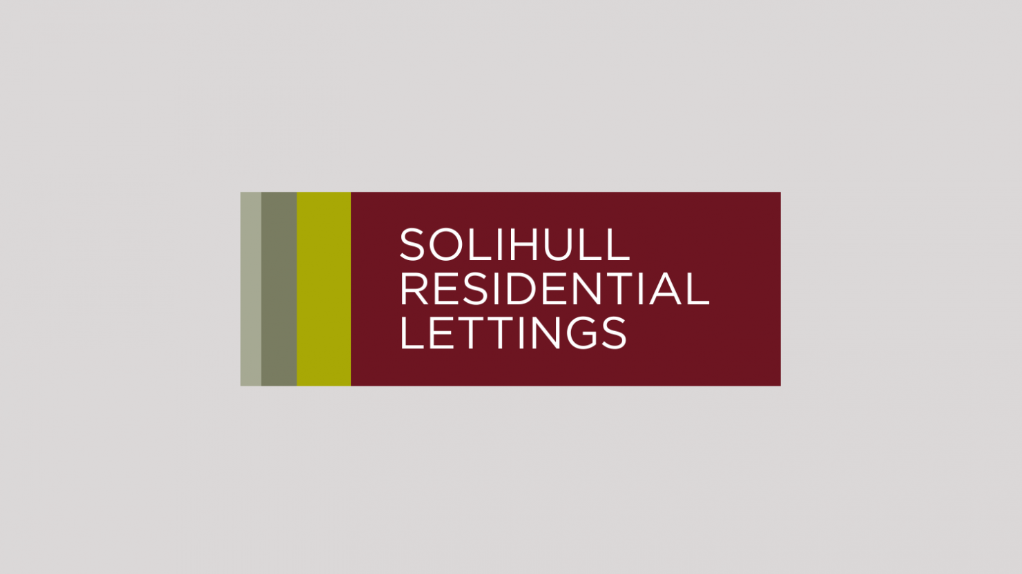 Logo design and branding for Solihull Residential Lettings