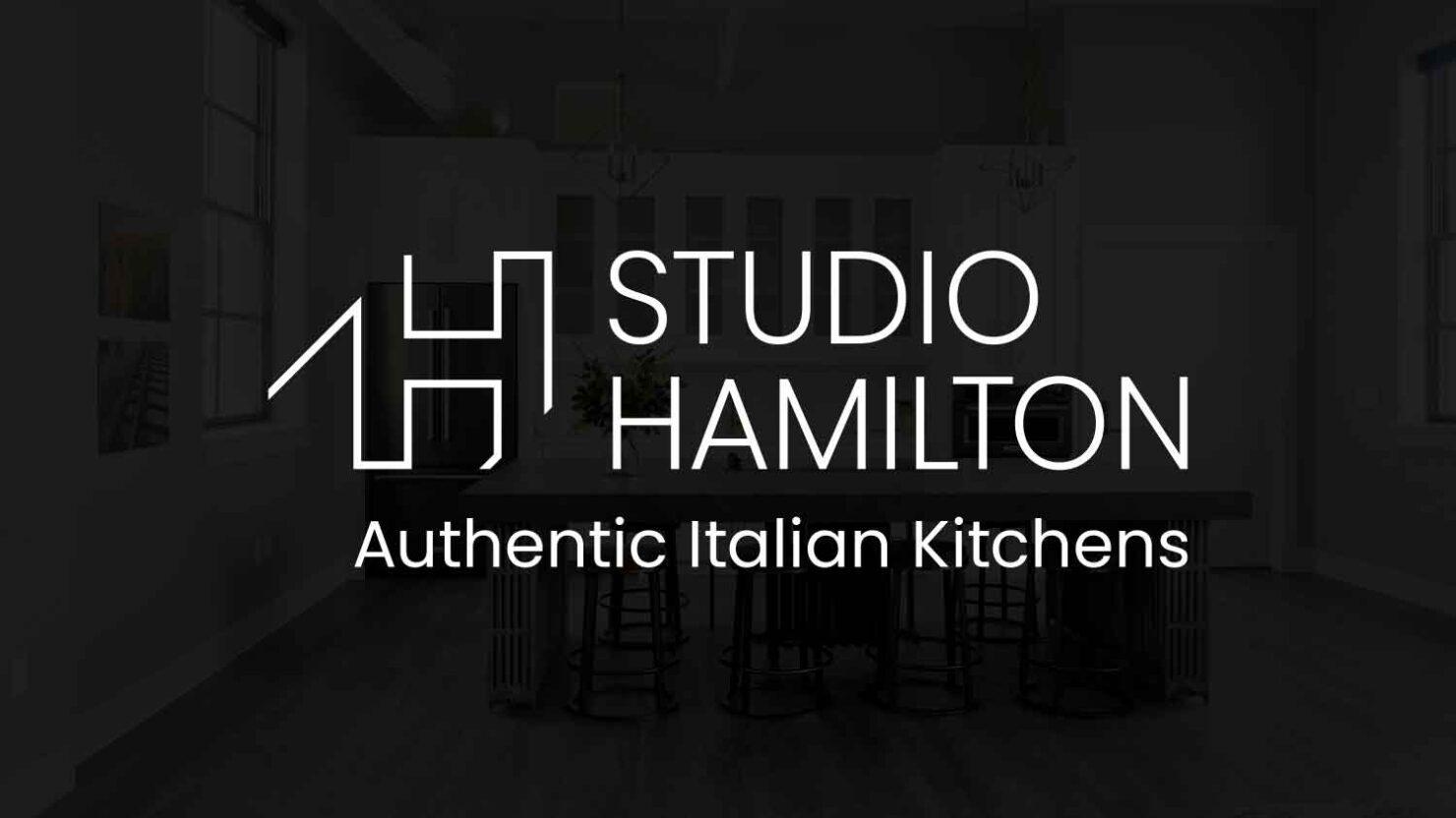 creative logo design for studio hamilton solihull