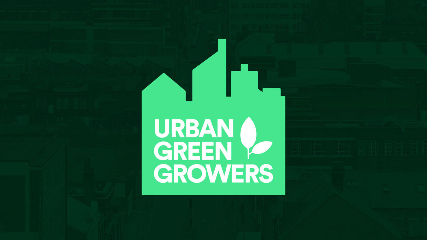 creative logo design for urban green growers solihull